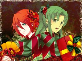 Red and Green and Christmas by lutherum
