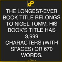 The Longest-Ever Book Title by 8book