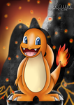 Pokemon - Charmander by DeerCrowShadow