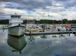 Hilton Head Marina by E-Davila-Photography