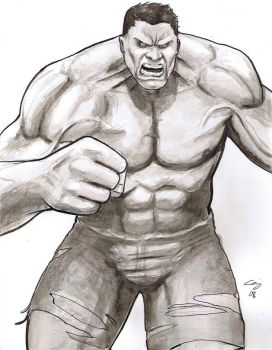 Hulk Angry by craigcermak