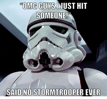 Said no stormtrooper by onyxcarmine