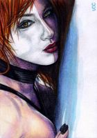 Typhoid Mary Sketch Card 1 by veripwolf
