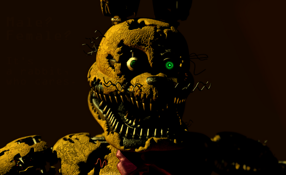 Spring Bonnie is back! by Mixlas2