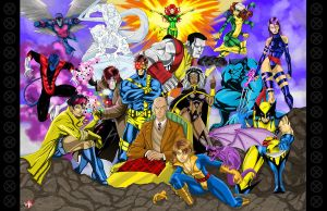X-MEN by WiL-Woods