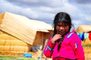 Nina from the Uros Islands by impulsives