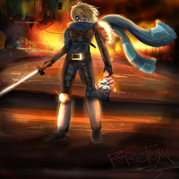 Adventure Time - Apocalypse Finn by EpicTaxi
