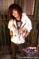Splatterstar 2 Hoodie by BleedingStarClothing