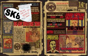 Bullworth tabloid spread by theSSjulia