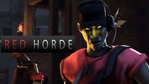 RED Horde wallpaper by DP-films