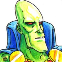 Daily Sketches The Martian Manhunter by fedde