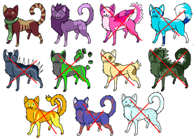 Name your price Cat Adoptables .:OPEN:. by JursAdoptables