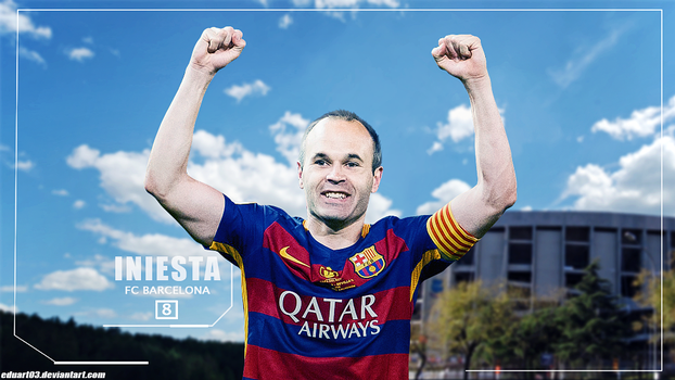 Andres Iniesta by Eduart03
