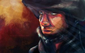 Nate Fick by xue-ying