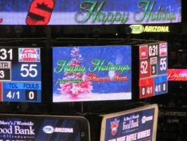 Happy Holidays from your Phoenix Suns 2 by BigMac1212
