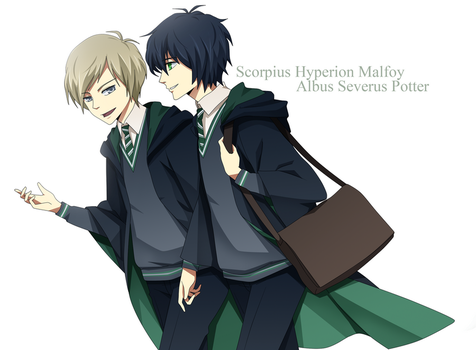 Next Gen: Al and Scorpius by ichan-desu