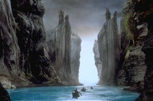 Argonath by the-lonely-soldier