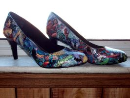 JLA Shoes by Syagria