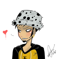 Trafalgar Law by Squidbiscuit