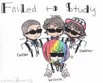 Failed to Study!! XDD by Akatsukigurl101