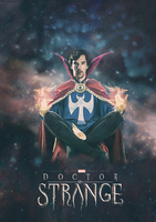 Doctor Strange by pappersflygplan