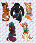 Corpse Flower Adopts - CLOSED by PrinnyEx