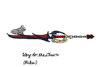 Way to the Dawn Keyblade by kairon92