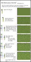 MS Paint Grass Tutorial by emurakawa
