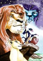 Lion King Poster by TLK-SIMBA-SANDSLASH