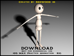 3D Studio Max Animation Rig 1 by REDWOOD3D