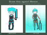 Video Game Character Redraw by FatedReborn