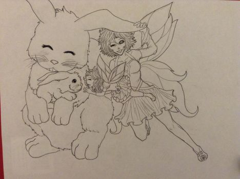 Mother's Day pic WIP by nightshadow72