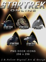 Star Trek Online PNG Icons 3 by ShadowLights