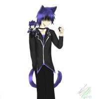ikuto the three cat boy's by Tip-the-cat