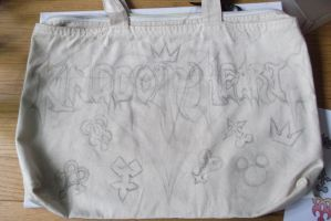 Kingdom Hearts bag (other side) by BlueStripedRenulian