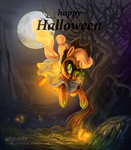 Ghost skeleton apple- mlp:fim.Applejack by Obpony
