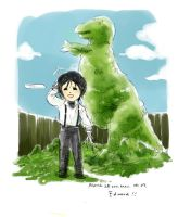 Edward and Dinosaur Tree by amoykid