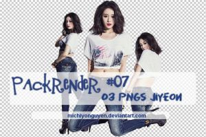 [Renderpack] #07 - Jiyeon by MichiyoNguyen