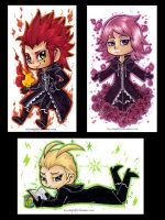 KH: CoM - Trio Minis by KeyshaKitty