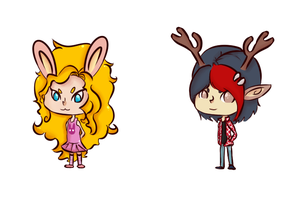 Adoptables::Chibi(ONE LEFT)ONLY TEN POINTS! by deviladoptable
