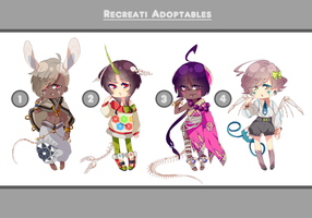 Recreati Adopt Batch #001 [CLOSED - SET PRICE] by BJ-senpai