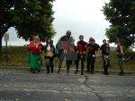 young justice cosplayers  geek kon 2014 by luigiswayze