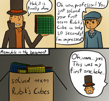 Request - Solving Puzzles by kenabe