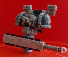 Aztec Space Marine conversion project by storag