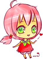 Strawberry Cute by dancemove