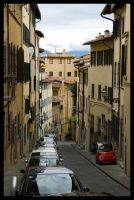 Typical Florencian Road by Vagrant123