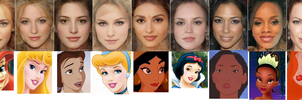 Disney Cast 1 by FalseDisposition