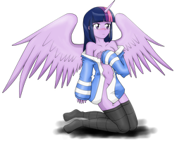 Twilight-Sparkle Cry Soul by D3-shadow-wolf