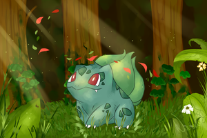 Bulbasaur 001# by NabaJandra