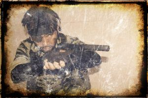 Naked Snake /Big boss - Metal GearSolid-SnakeEater by akagii2004